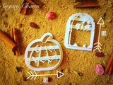 Halloween Pumpkin cookie cutter set (4 pieces)