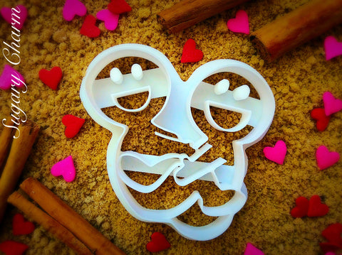The Rock N' Roller cookie cutter