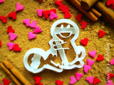 The Splitting Bamboo cookie cutter