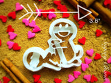 The Splitting Bamboo cookie cutter 1