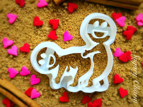 The Fan cookie cutter