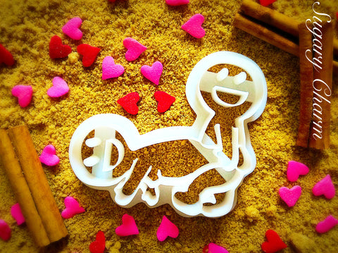 The Standing Wheel barrow cookie cutter