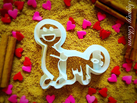 The Doggy Style cookie cutter
