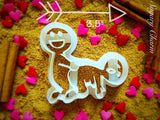 The Doggy Style cookie cutter 1