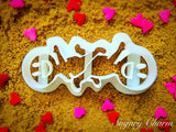 The Catherine Wheel cookie cutter