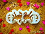 The Catherine Wheel cookie cutter 1