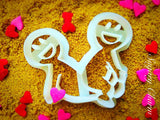 The Balancing Act cookie cutter