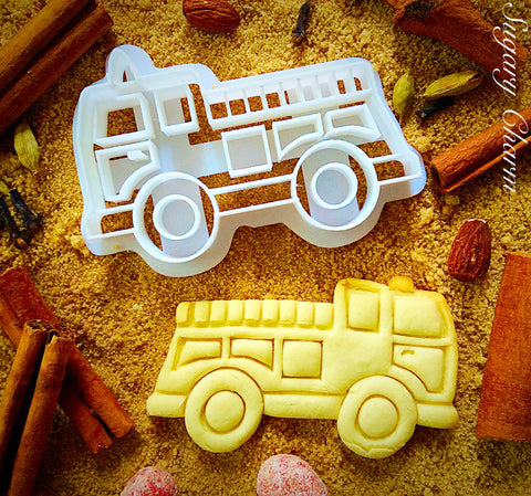 Firetruck cookie cutter