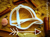 Baseball Cap cookie cutter 1