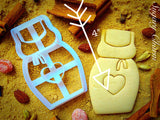 Apron cookie cutter 1