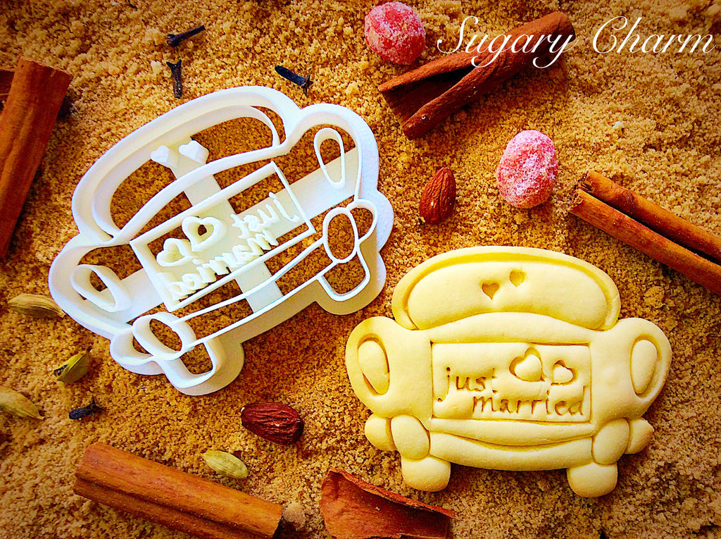 Wedding Car cookie cutter