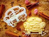 Wedding Car cookie cutter 1