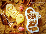 Pregnant Woman cookie cutter 1