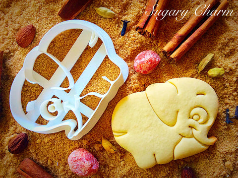 Elephant Tail cookie cutter