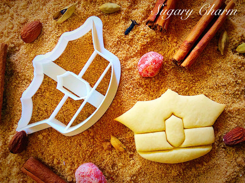 Police Hat cookie cutter