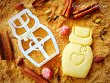 Apron cookie cutter