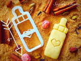 Milk Bottle cookie cutter 1