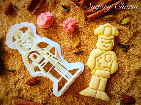 Policeman cookie cutter