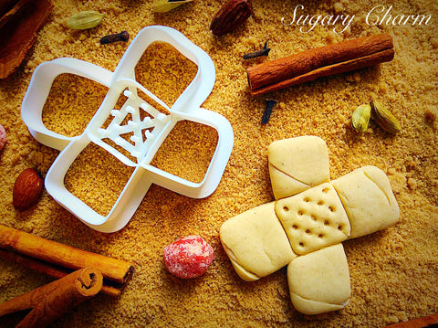 Bandage cookie cutter