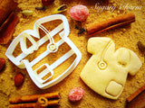 Doctor's Gown cookie cutter