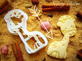 Giraffe cookie cutter 1