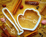 BaseballStick cookie cutter