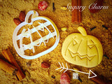 Halloween Evil Pumpkin cookie cutter