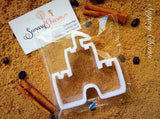 Castle And Princess Set cookie cutters
