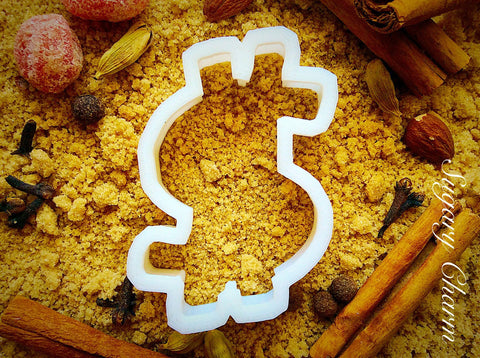 Dollarsign cookie cutter