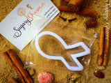 Cancer Ribbon cookie cutter