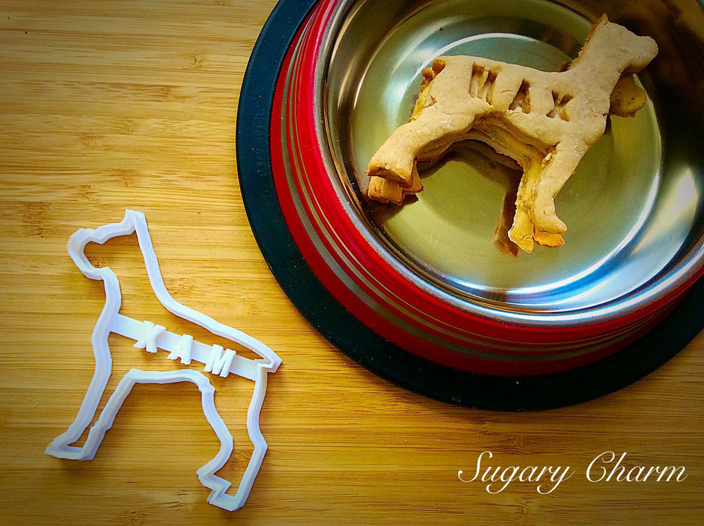 Personalized Boxer cookie cutter (NAME your COOKIE)