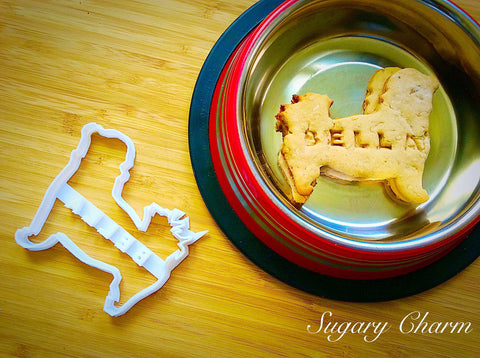 Personalized Maltese cookie cutter (NAME your COOKIE)