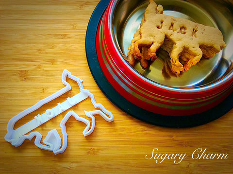 Personalized Retriever cookie cutter (NAME your COOKIE)
