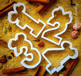 Minnie Number 3 cookie cutter