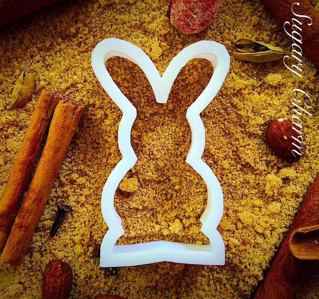 Bunny Standing cookie cutter