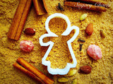 Ginger Girl Cup cookie cutter