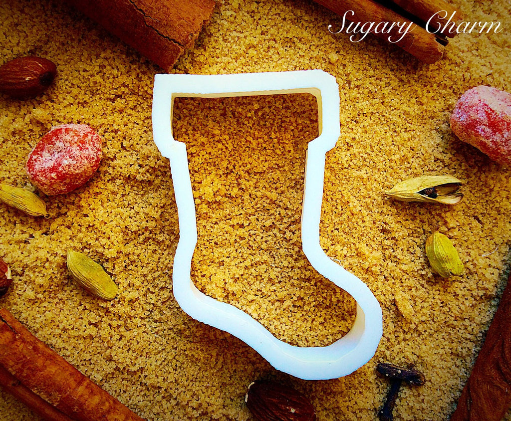 Stocking cookie cutter