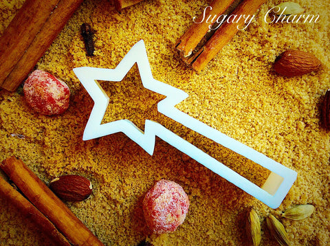 Magic Wand cookie cutter