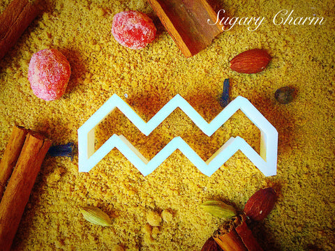 Plaque Chevron cookie cutter