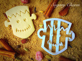 Halloween Frankenstein cookie cutter