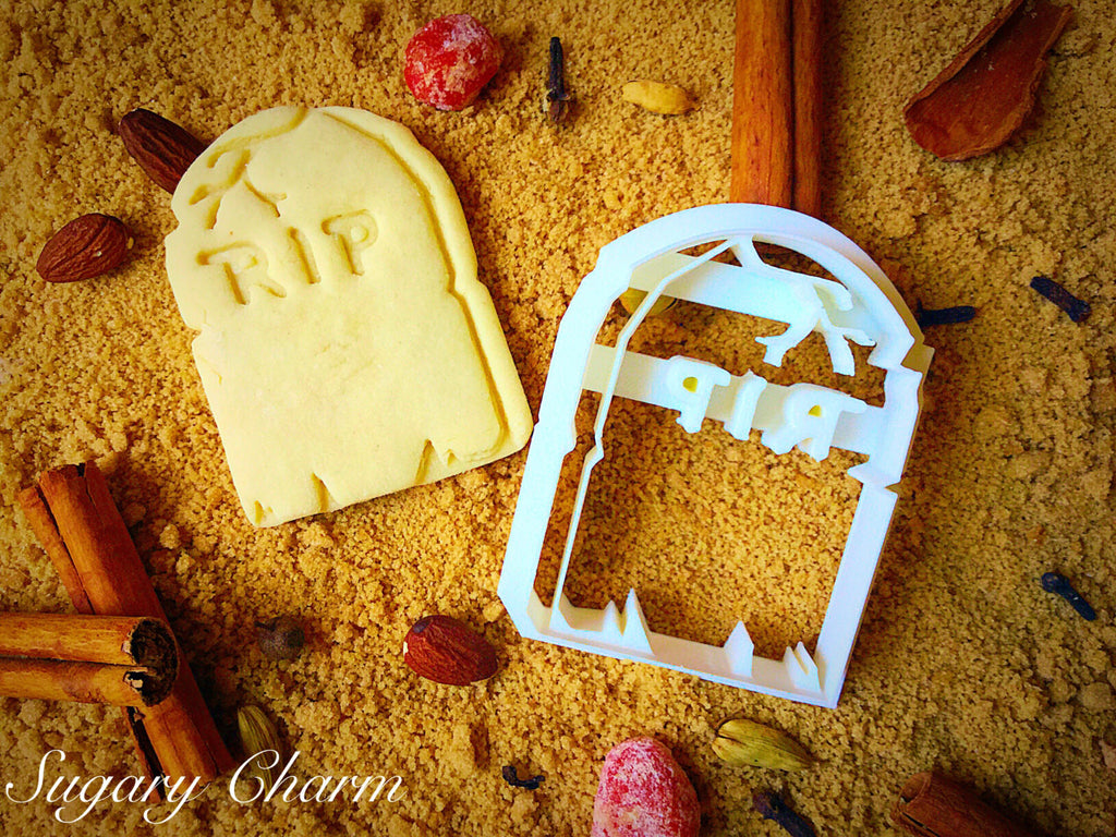 Halloween RIP Cookie Cutter