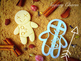 Halloween Voodoo Doll cookie cutter