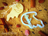 Halloween Friendly Ghost  cookie cutter