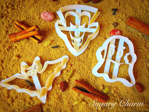 Halloween Vampire cookie cutter set (3 Pieces)