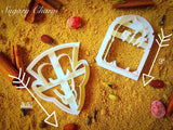 Halloween Vampire cookie cutter set (2 Pieces)