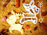Rudolph Cookie Cutter