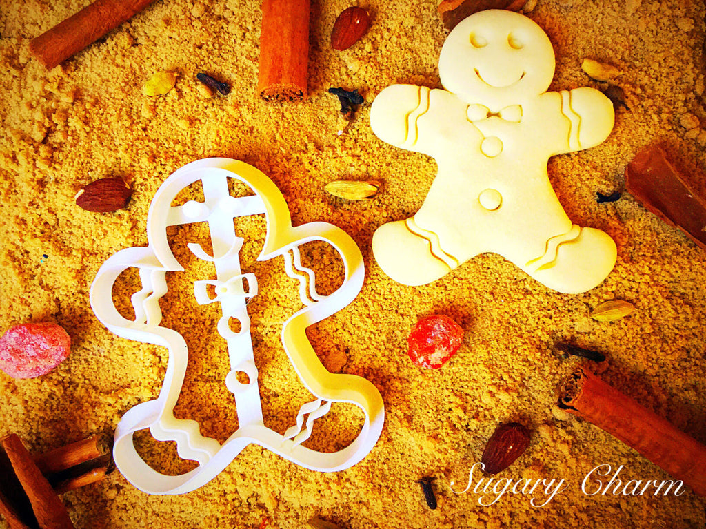 Gingerbread Boy Cookie Cutter from Sugary Charm