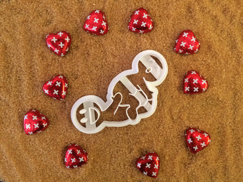 The Reverse Cowgirl cookie cutter