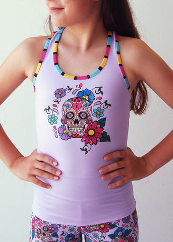 Mini Punk 'LA CATRINA' Crop