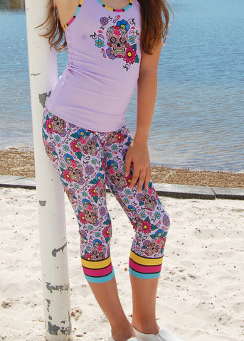 Mini Punk 'RAINBOW MERMAID' Long Tights